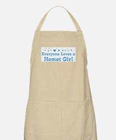 Loves Hemet Girl BBQ Apron