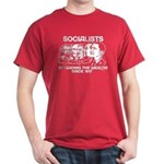 Socialists Obama Dark T-Shirt