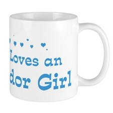 Loves El Salvador Girl Mug