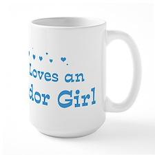 Loves El Salvador Girl Mug