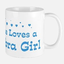 Loves La Habra Girl Mug