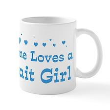 Loves Kuwait Girl Mug