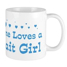 Loves Kuwait Girl Mug