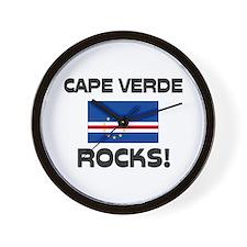 Cape Verde Rocks! Wall Clock
