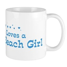 Loves Pompano Beach Girl Mug