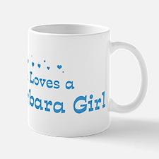 Loves Santa Barbara Girl Mug