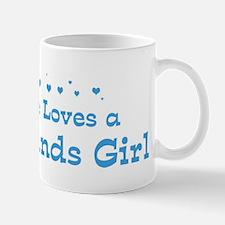 Loves Netherlands Girl Mug