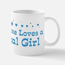 Loves Nepal Girl Mug
