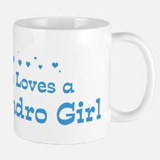 Loves San Leandro Girl Mug