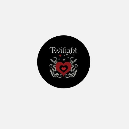 Heart Twilight Mini Button