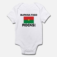 Burkina Faso Rocks! Infant Bodysuit
