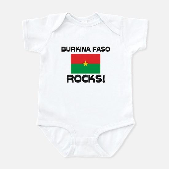 Burkina Faso Rocks! Infant Bodysuit