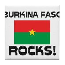 Burkina Faso Rocks! Tile Coaster