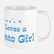Loves Sacramento Girl Mug