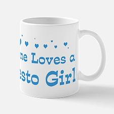 Loves Modesto Girl Mug
