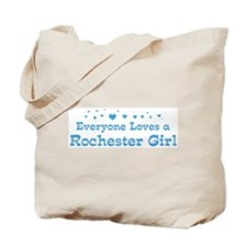 Loves Rochester Girl Tote Bag