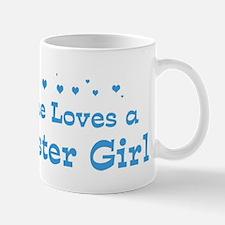 Loves Rochester Girl Mug