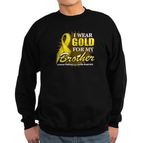 Gold For My Brother Sweatshirt (dark)