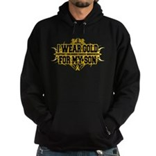 Gold For Son Tribal Hoodie