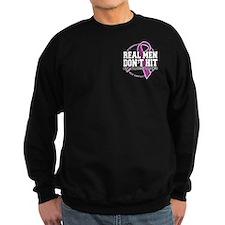 Real Men Don't Hit Sweatshirt