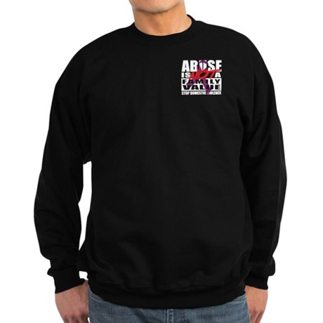 Hate is not a Family Value Sweatshirt (dark)