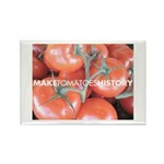 Make Toamtoes History Rectangle Magnet (100 pack)