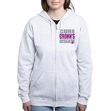 Cure Crohn's Disease Zip Hoodie