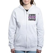 Cure Cystic Fibrosis Zip Hoodie
