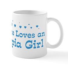Loves Olympia Girl Mug