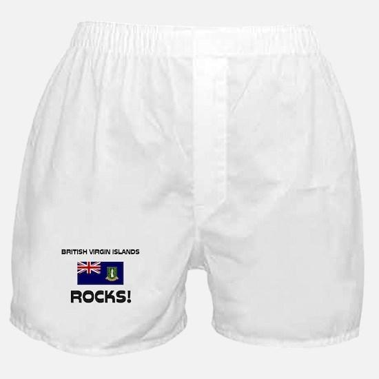 British Virgin Islands Rocks! Boxer Shorts