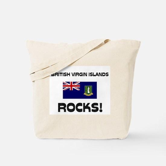 British Virgin Islands Rocks! Tote Bag