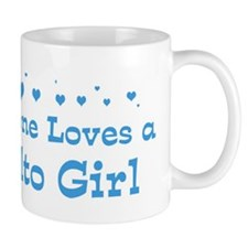 Loves Rialto Girl Mug