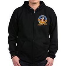 Fight MS Penguin Zip Hoodie