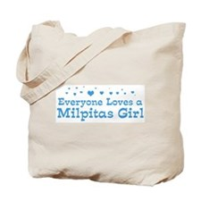 Loves Milpitas Girl Tote Bag