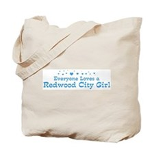 Loves Redwood City Girl Tote Bag