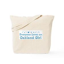 Loves Oakland Girl Tote Bag
