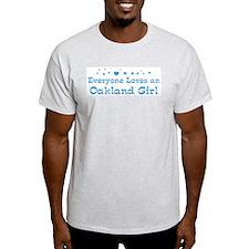 Loves Oakland Girl T-Shirt