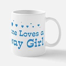 Loves Norway Girl Mug