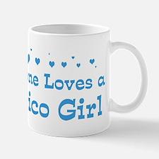 Loves Mexico Girl Mug