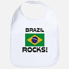 Brazil Rocks! Bib