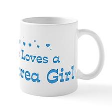 Loves North Korea Girl Mug