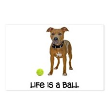 Pit Bull Life Postcards (Package of 8)