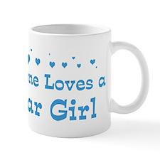 Loves Qatar Girl Mug