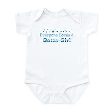 Loves Qatar Girl Infant Bodysuit