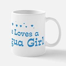 Loves Nicaragua Girl Mug