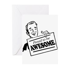 Proud to be Awesome - Greeting Cards (Pk of 20)
