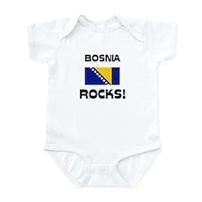Bosnia Rocks! Infant Bodysuit