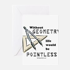 Unique Geometry Greeting Cards (Pk of 20)