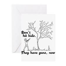 Don't hit kids - Greeting Cards (Pk of 20)