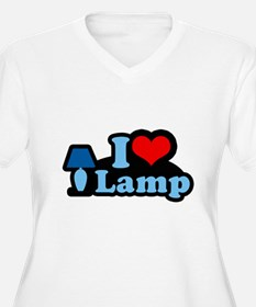 I heart lamp - T-Shirt